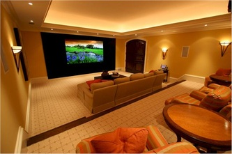 Superior Stunning Home Theatre Room Design India Contemporary   Interior . Part 3