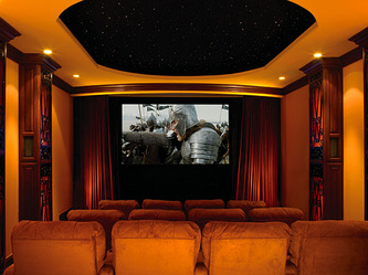 Home Theater Design, Home Theater Prewire, Home Theater Ideas   Commercial  And Residential Home Theater. Bangalore, India