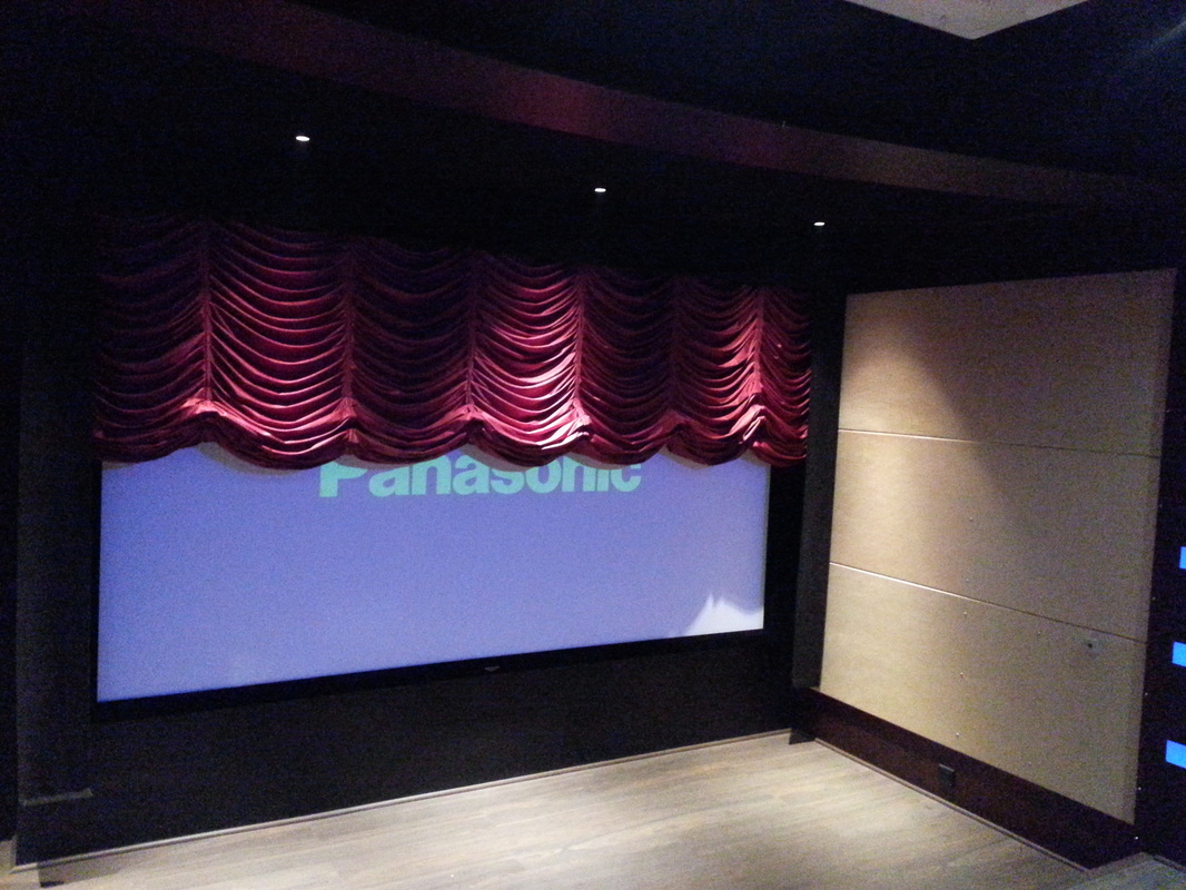 Images Of The Theater System Implemented At The Clientu0027s Villa